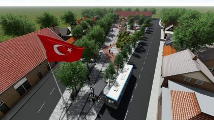 Aliağa Belediyesi'nden Helvacı'ya Tarihi Meydan Projesi Galeri