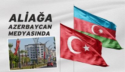 Aliağa'da Bayrak Coşkusu Azerbaycan Medyasında Galeri