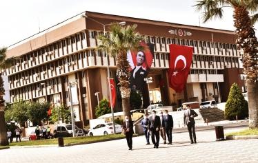 Atatürk Anıtına Çelenk Sunma Töreni düzenlendi Galeri