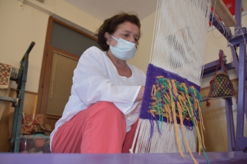 Tarihi Helvacı Kilimi Dokuma Kursu Açılıyor Galeri