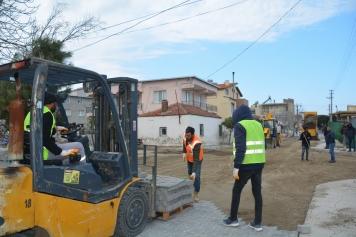 Yeni Şakran'da Yollar Yenileniyor Galeri