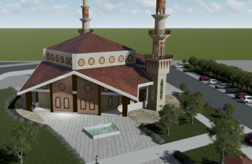 Aliağa Sanayi Sitesine Yeni Cami Projesi   Galeri
