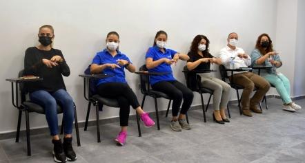 Aliağa Belediyesi İşaret Dili Kursları Başladı Galeri
