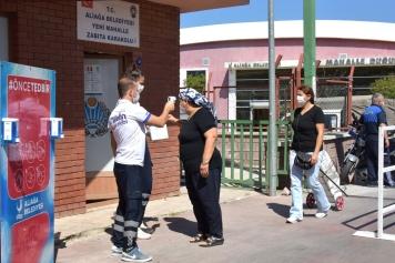 Zabıta'dan Yeni Mahalle Çarşamba Pazarı'nda Virüs Tedbirleri Galeri
