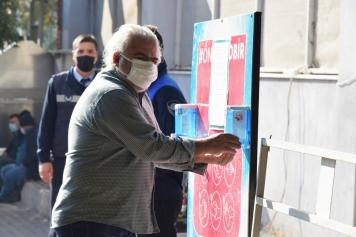 Aliağa'da Pazar Yerleri'nde Koronavirüse Geçit Yok Galeri