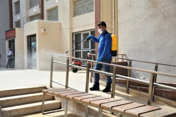 Aliağa Belediyesi Hijyen Çalışmalarına Ara Vermiyor Galeri