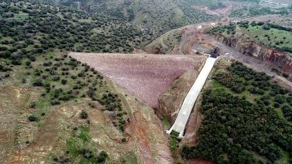 Kalabak Barajı'nda Gövde Dolgusu Tamamlandı Galeri