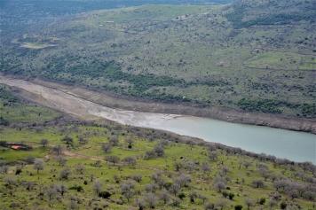 Güzelhisar Barajı'nda Su Seviyesi Bir Yılda Yüzde 25 Azaldı Galeri